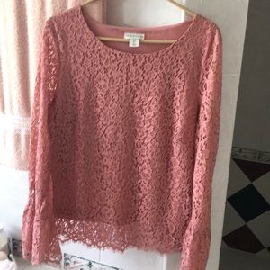 Pretty Adrienne Vittadini lined blouse